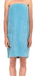 TowelSelections Women's Wrap, Shower & Bath, Water Absorbent Cotton Lined Fleece