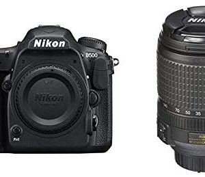 Nikon D500 DX-Format Digital SLR (Body Only) and 18-140mm f/3.5-5.6G ED Vibration Reduction Zoom Lens with Auto Focus for Nikon DSLR Cameras