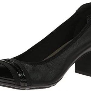 Anne Klein Sport Women's Guardian Leather Dress Pump Shoes