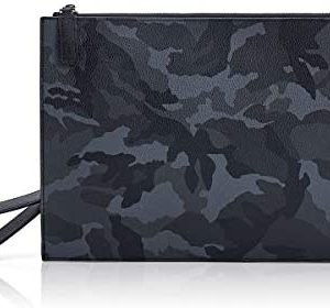 BABAMA Wristlet Wallets for Women Large Wristlets Purse Leather Clutch Wallet Zipper Men Clutch Bag