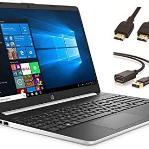 "2020 HP 15.6"" Touchscreen Laptop Computer, 10th Gen Intel Core i3-1005G1 Up to 3.4GHz (Beat i5-7200u), 8GB DDR4 RAM, 128GB SSD, 802.11ac WiFi, HDMI, Windows 10 + CUE Accessories"